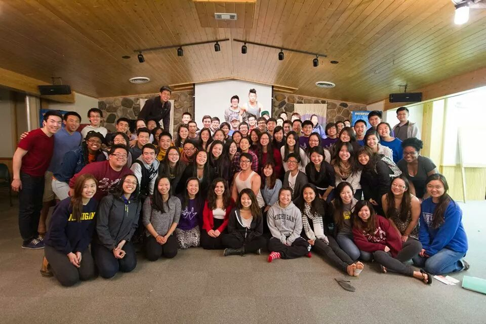 a group of intervarsity christian fellowship students in the seperated asian american small group