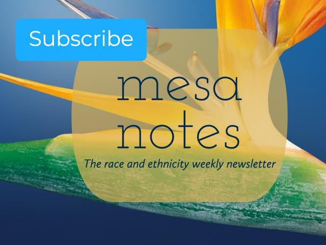 Graphic image of MESA Notes newsletter