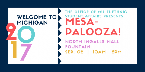 MESA-Palooza Flyer. All info in text