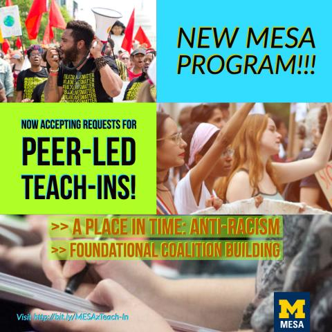 Peer-Led Teach-In