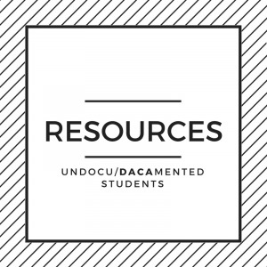 Resources for Undocu/DACAmented Students icon.