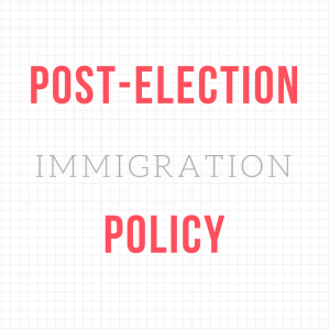 Post-Election Immigration Policy Key Messaging icon.