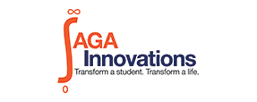 SAGA Innovations logo. Info in article.